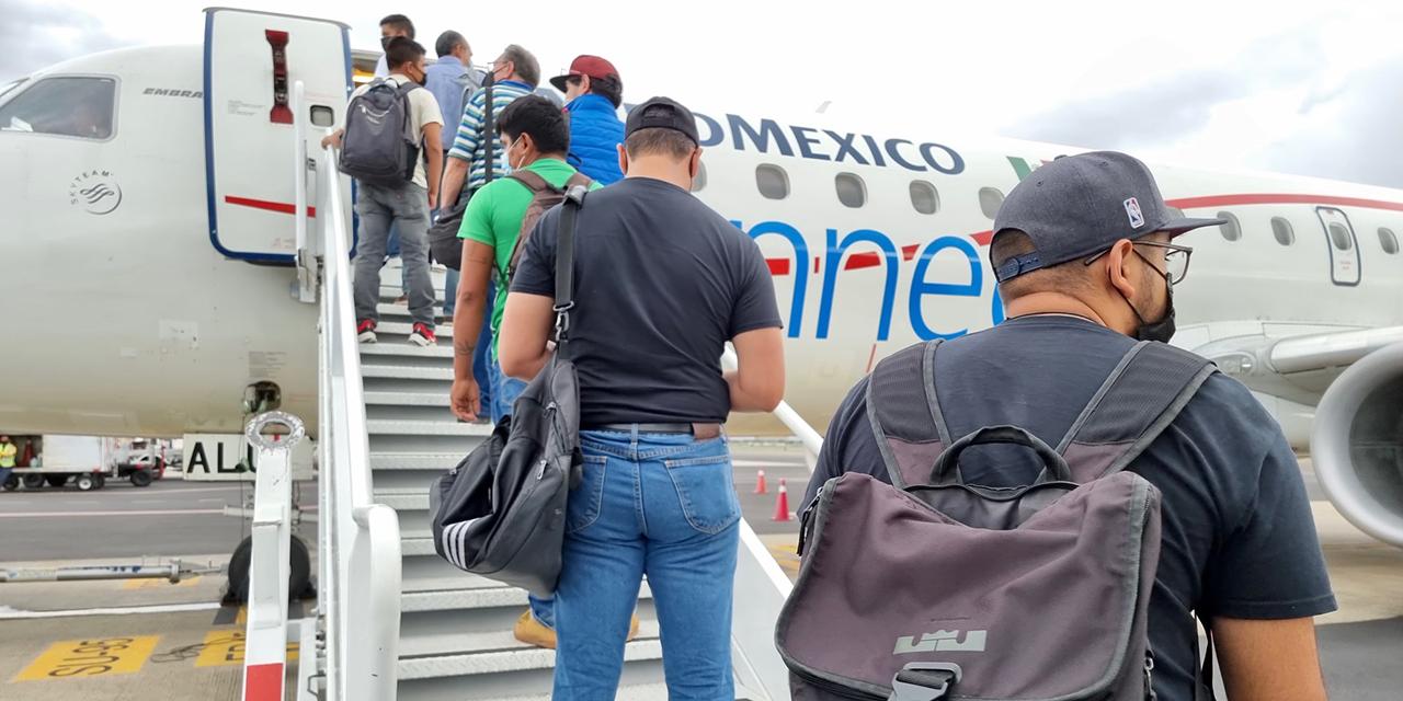 Respira tráfico aéreo; reportan 300 mil viajeros   El Imparcial de Oaxaca