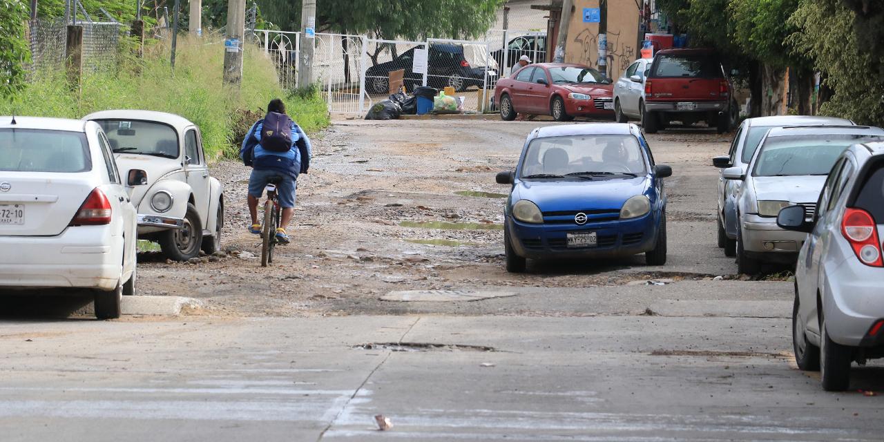 El Rosario, con calles olvidadas y destrozadas   El Imparcial de Oaxaca