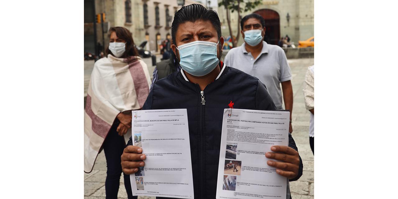 PAN-Nueva Alianza quieren nueva elección en Mitla | El Imparcial de Oaxaca