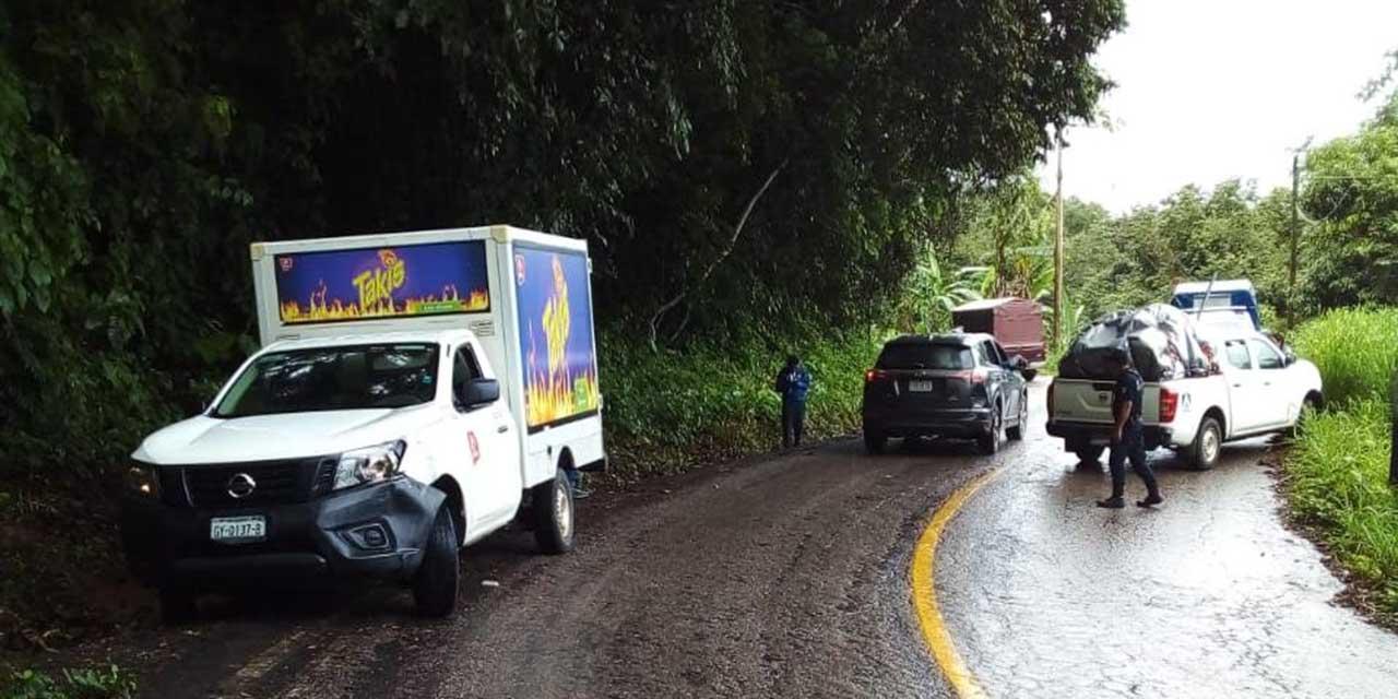 Reportan un choque sobre la carretera 175 | El Imparcial de Oaxaca
