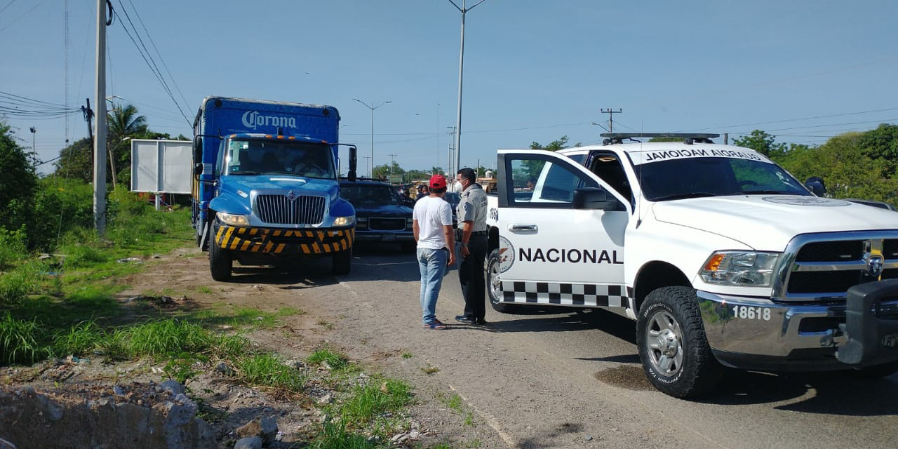 Querían secuestrar camión cervecero en Tehuantepec | El Imparcial de Oaxaca