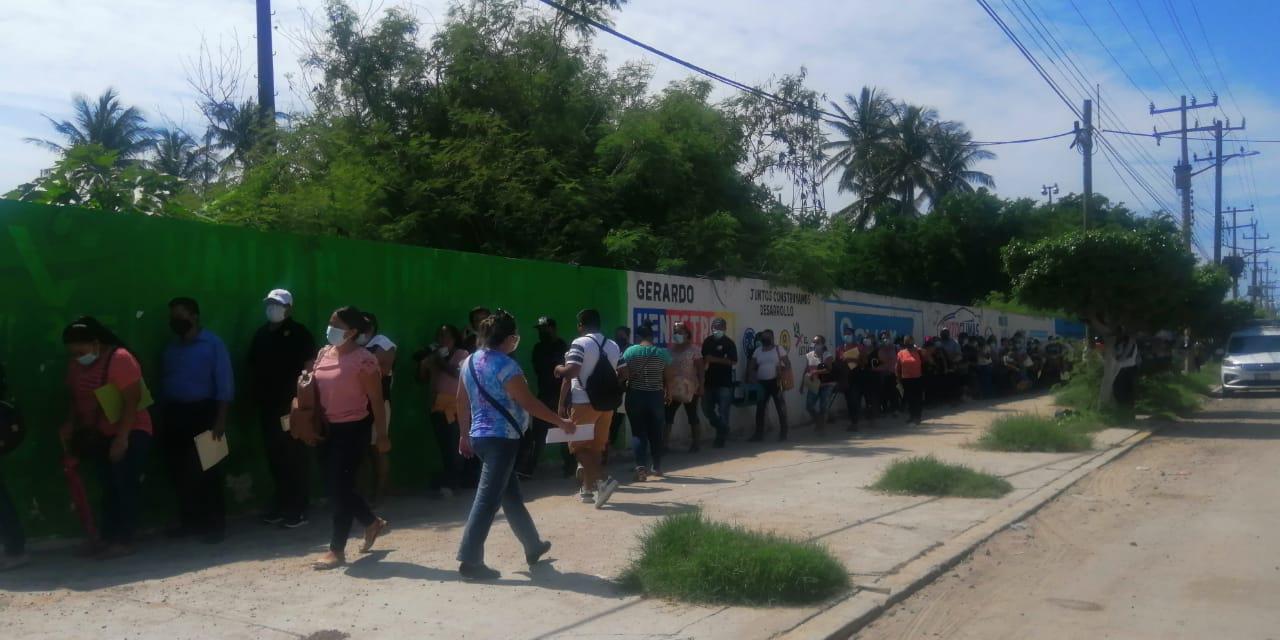 Un calvario para recibir vacuna contra Covid-19 en Salina Cruz   El Imparcial de Oaxaca
