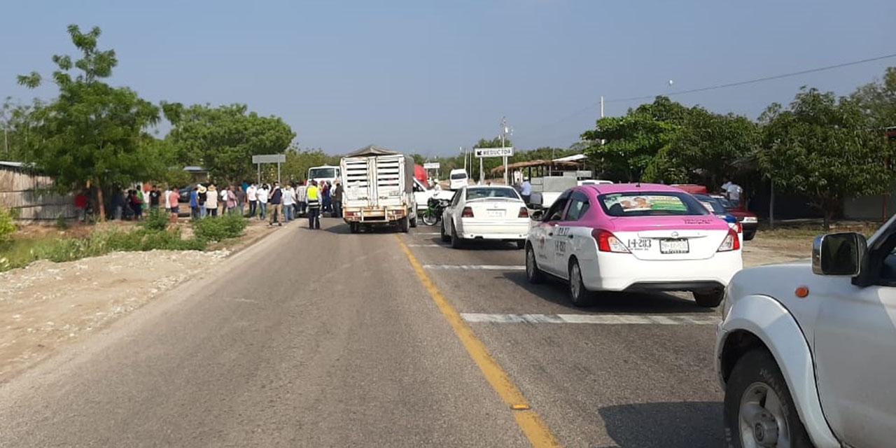 Protestan comuneros de Jalapa del Marqués   El Imparcial de Oaxaca