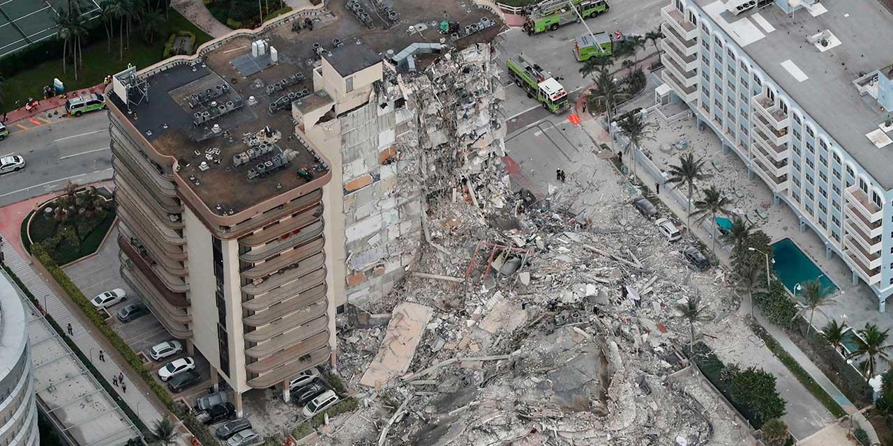 Derrumbe de edificio en Miami deja 99 desaparecidos | El Imparcial de Oaxaca