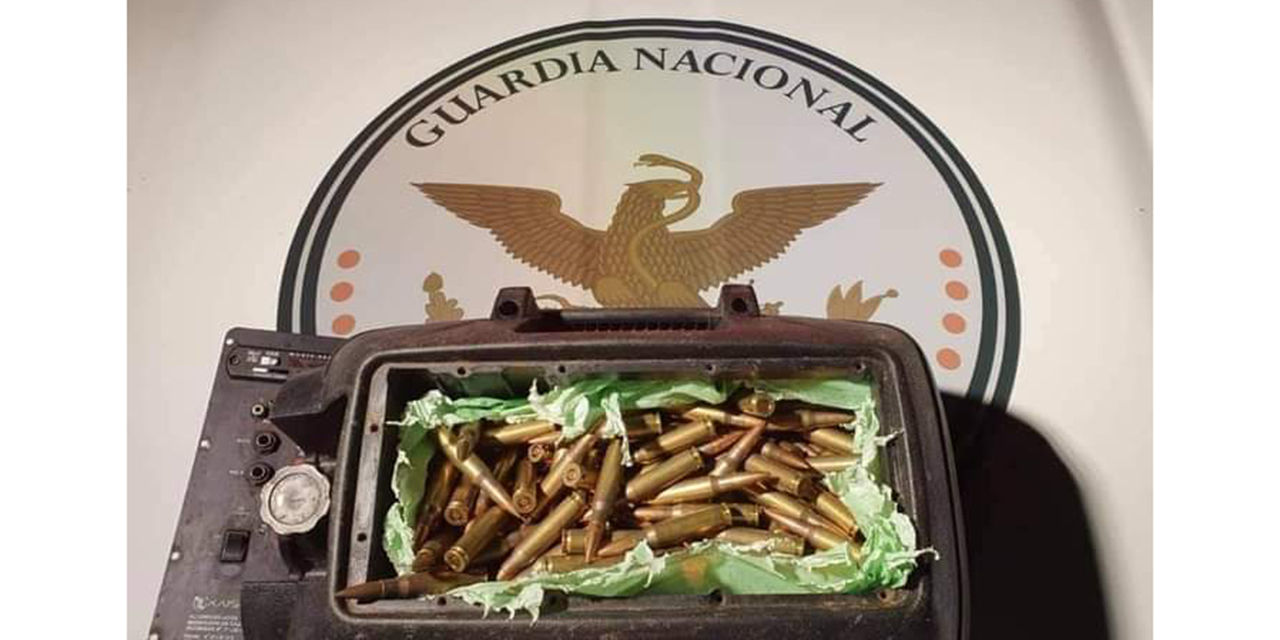 Guardia Nacional incauta 415 cartuchos útiles en Matías Romero | El Imparcial de Oaxaca
