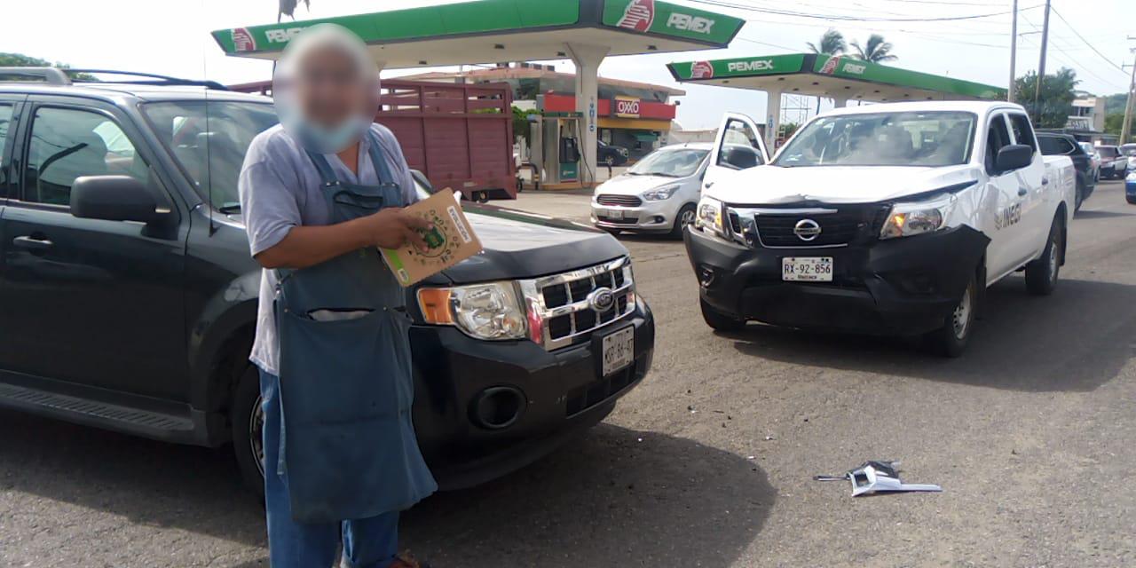 Choque cerca de la Col. Aviación de Salina Cruz   El Imparcial de Oaxaca