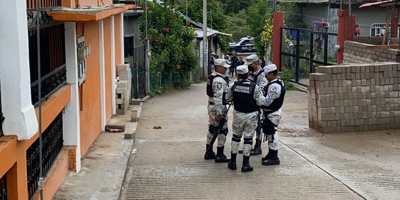 Guardia Nacional resguarda cómputo municipal en Pochutla | El Imparcial de Oaxaca