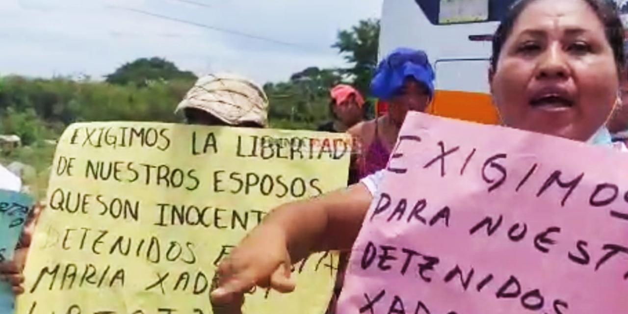 Exigen liberación de 10 detenidos en Xadani   El Imparcial de Oaxaca