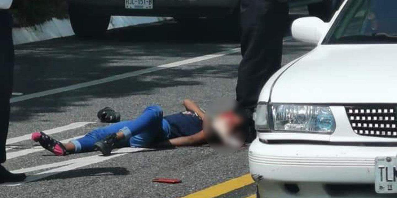Muere jovencita en accidente de moto | El Imparcial de Oaxaca