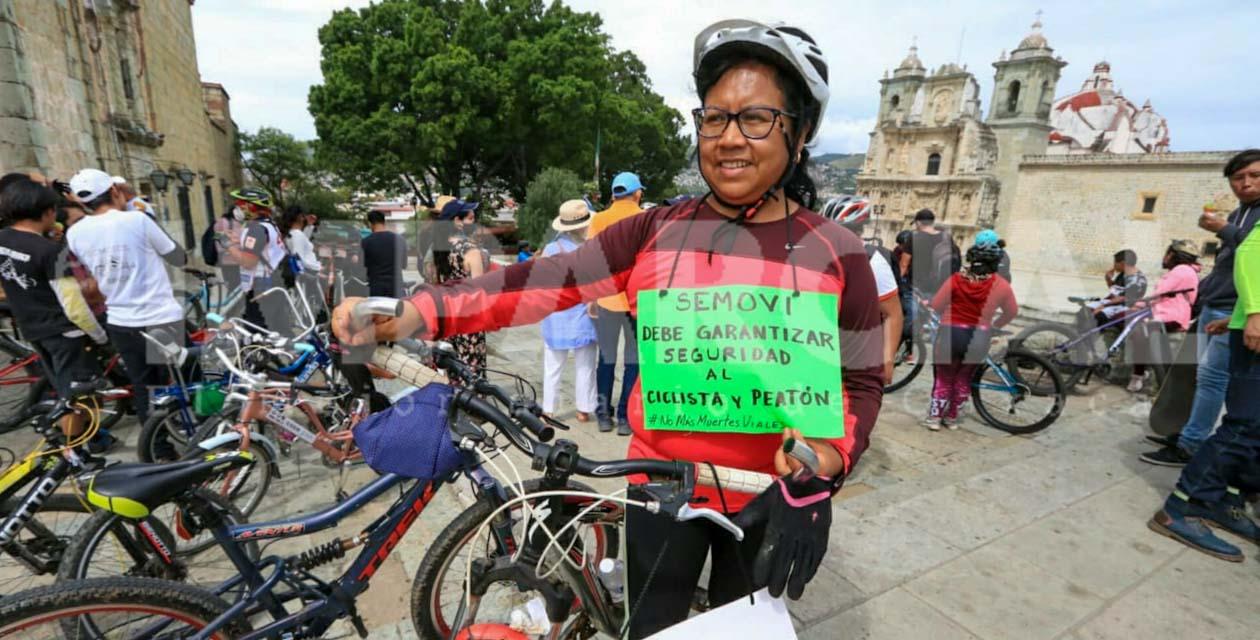 Con rodada ciclista piden calles seguras y no más muertes viales   El Imparcial de Oaxaca