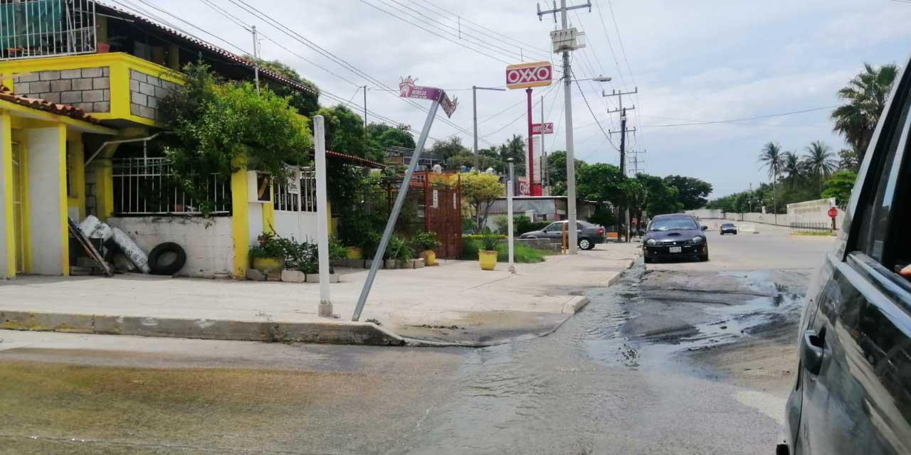Fugas de aguas negras inundan Salina Cruz | El Imparcial de Oaxaca