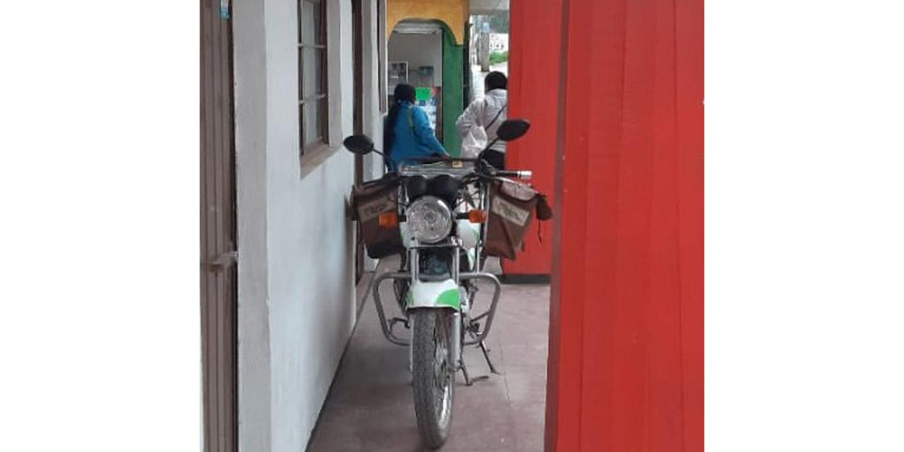 Denuncian a responsable de la oficina de Correos de invadir espacio público   El Imparcial de Oaxaca