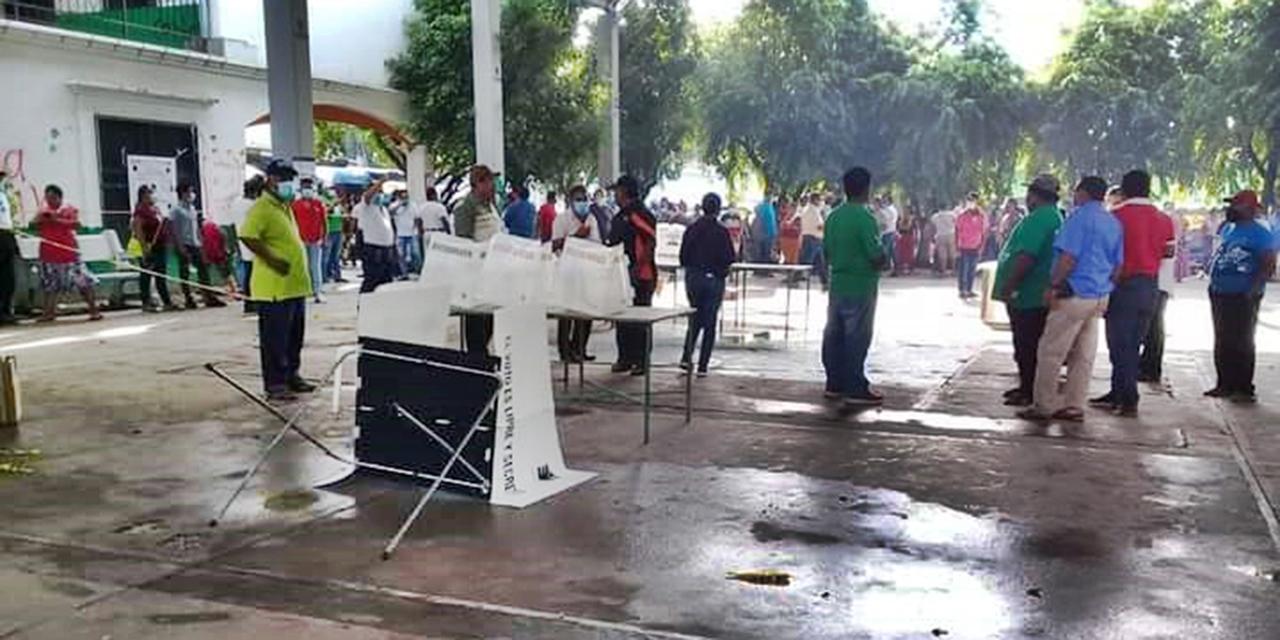 Sin fecha para elecciones extraordinarias tras violenta jornada electoral en el Istmo   El Imparcial de Oaxaca