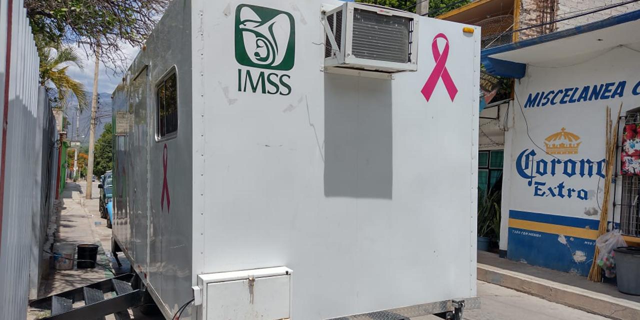 Exitosa, la campaña móvil de mastografía en Cuicatlán | El Imparcial de Oaxaca