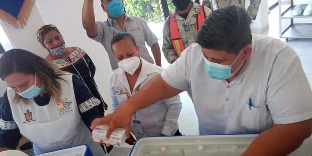 Llegan vacunas Pfizer a Pinotepa | El Imparcial de Oaxaca