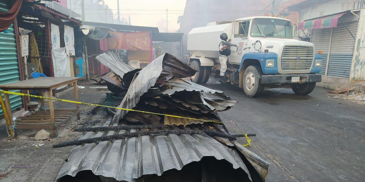 Comerciantes afectados por incendio en Juchitán exigen apoyo que prometió el gobierno   El Imparcial de Oaxaca