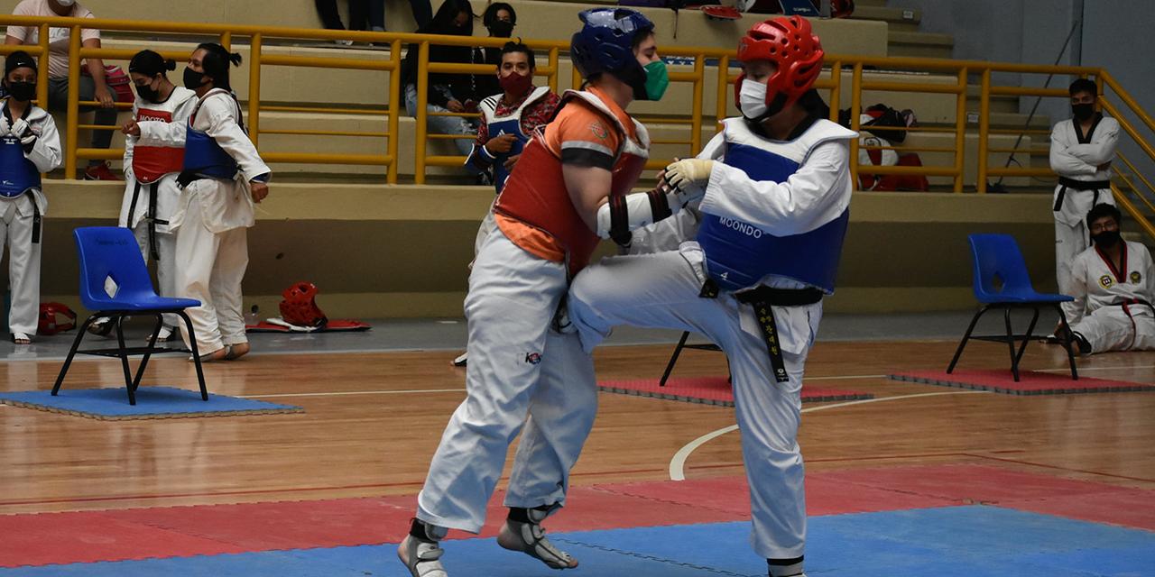 Fortalecieron su técnica en taekwondo   El Imparcial de Oaxaca