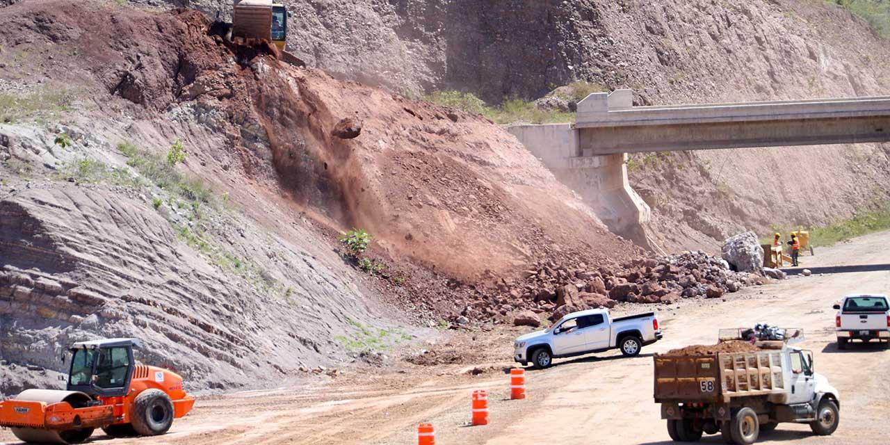Avanzan obras en autopista Barranca Larga-Ventanilla   El Imparcial de Oaxaca