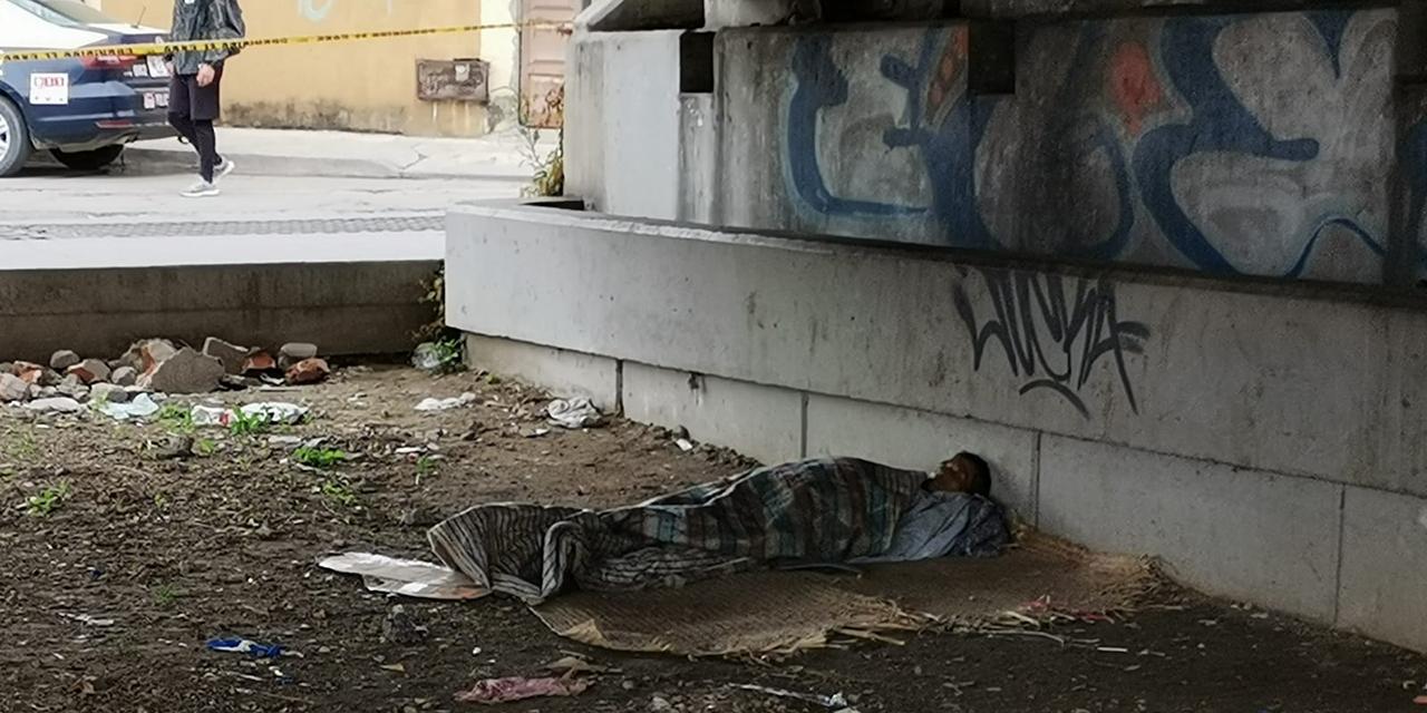 Hombre en situación de calle muere debajo del puente de Cinco Señores | El Imparcial de Oaxaca