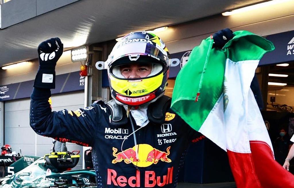 Checo Pérez 'devuelve' a Red Bull el trofeo del GP de Azerbaiyán | El Imparcial de Oaxaca