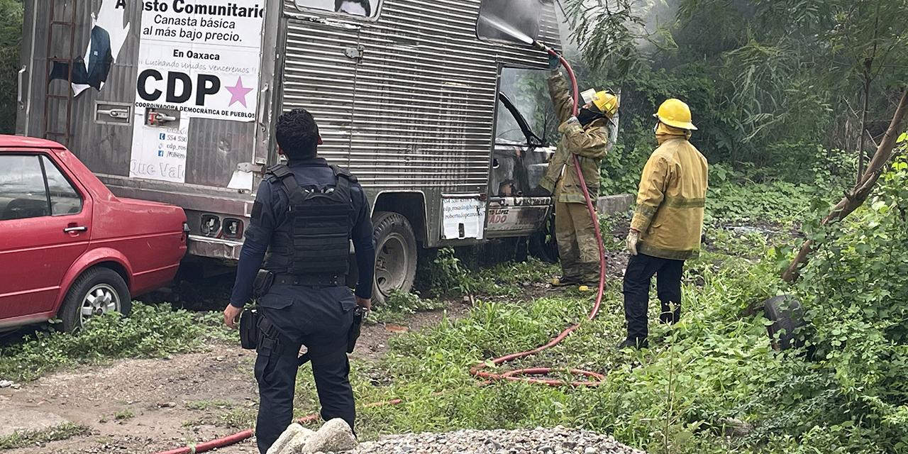 Le prenden fuego a camioneta en Juchitán   El Imparcial de Oaxaca