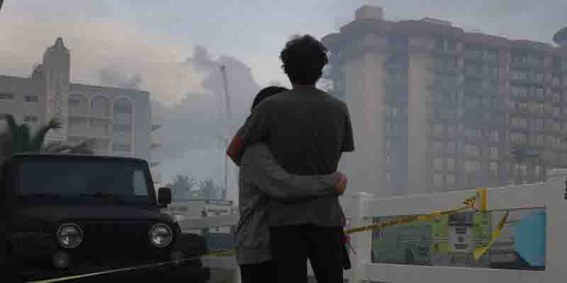 Se complica rescate  en edifico en Miami | El Imparcial de Oaxaca