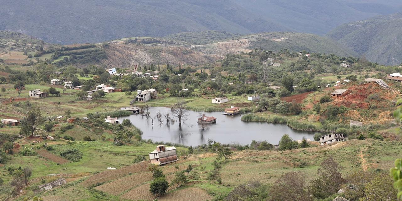 Mitlatongo, el socavón olvidado de Oaxaca
