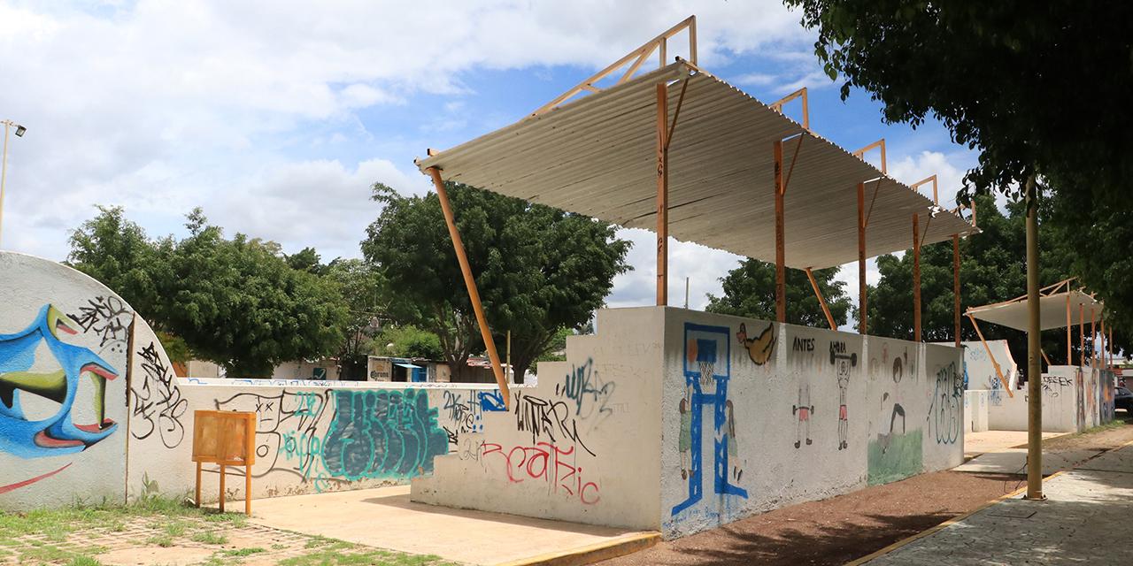 Se observa deterioro en parque deportivo de San Jacinto Amilpas | El Imparcial de Oaxaca