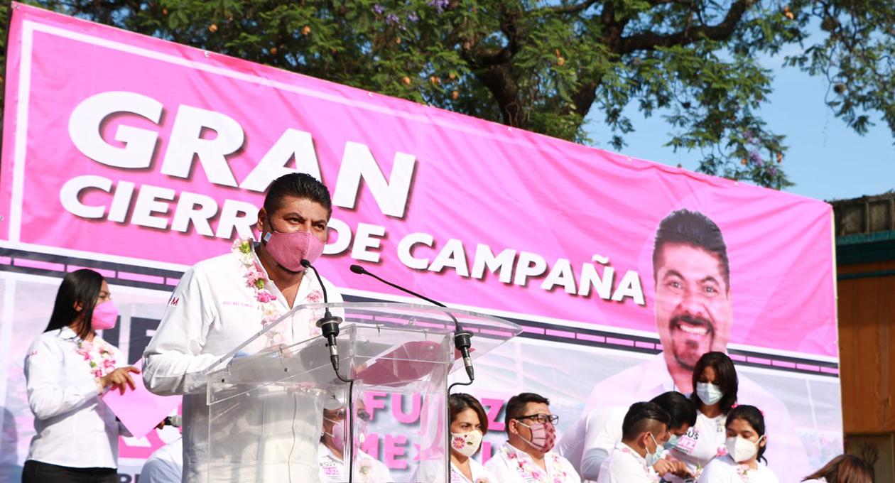 Jesús Ruiz Olmedo en su cierre de campaña afirma que gobernará con amor Oaxaca de Juárez | El Imparcial de Oaxaca