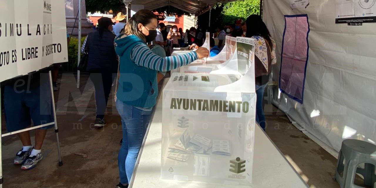 Aparentemente, todo tranquilo en Oaxaca: INE   El Imparcial de Oaxaca