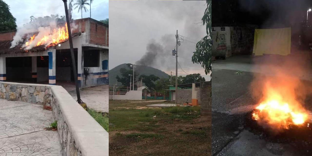 Video: Reportan quema de casilla en la región del Istmo   El Imparcial de Oaxaca