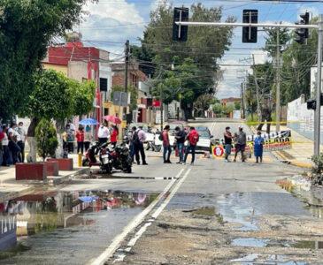 Vecinos del ex marquesado denuncian colapso del drenaje