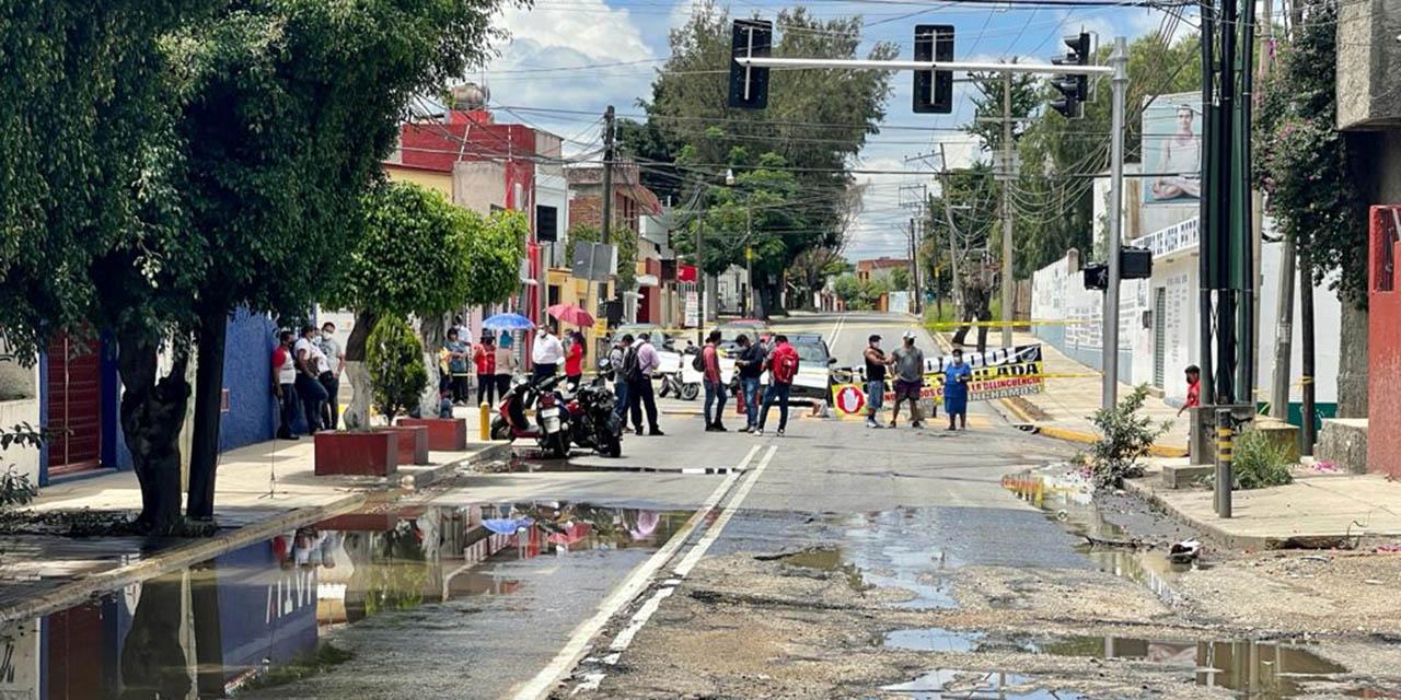 Vecinos del ex marquesado denuncian colapso del drenaje   El Imparcial de Oaxaca