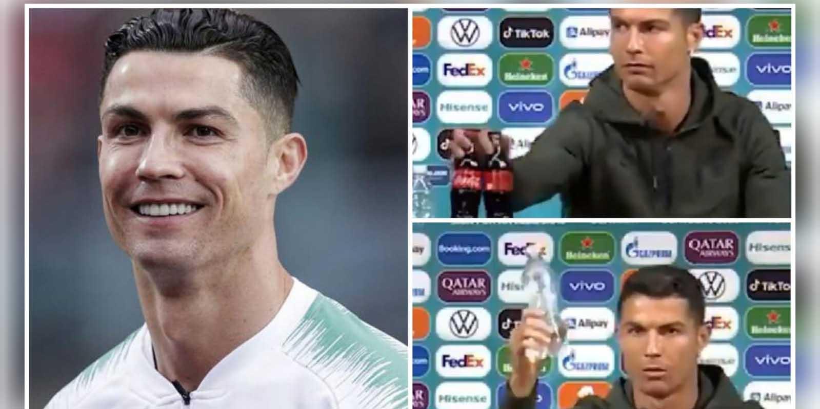 Cristiano Ronaldo hace perder a Coca Cola millones de dólares tras su gesto | El Imparcial de Oaxaca