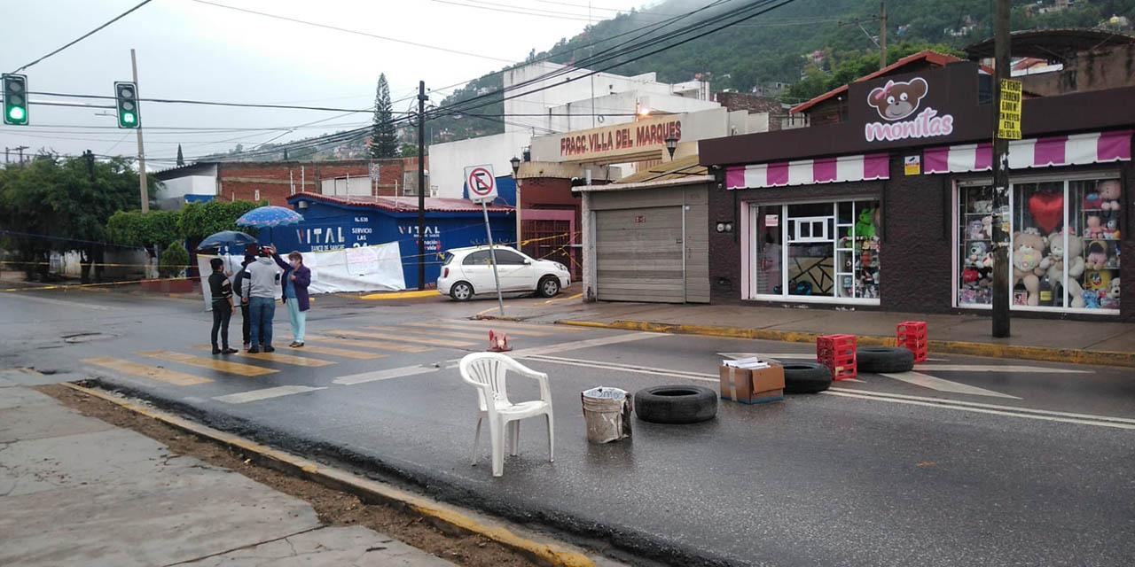 Por segundo día vecinos del ex Marquesado bloquean avenida Niños Héroes   El Imparcial de Oaxaca