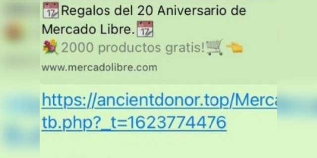 ¡Cuidado!, en WhatsApp circulan ofertas de Mercado Libre que son falsas | El Imparcial de Oaxaca