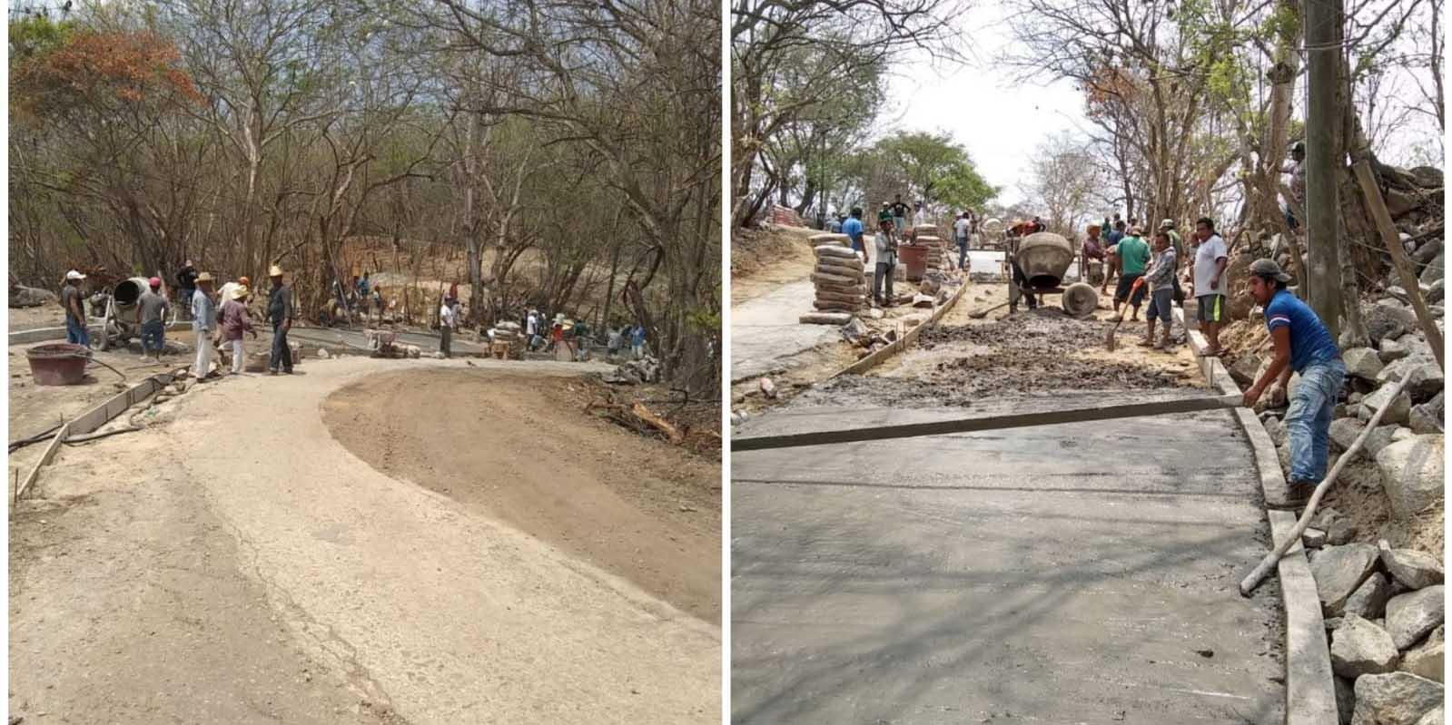Construyen carretera sin ayuda del gobierno   El Imparcial de Oaxaca