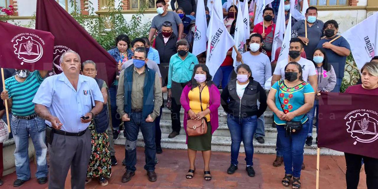 Piden justicia por los 15 muertos de Huazantlán del Río | El Imparcial de Oaxaca