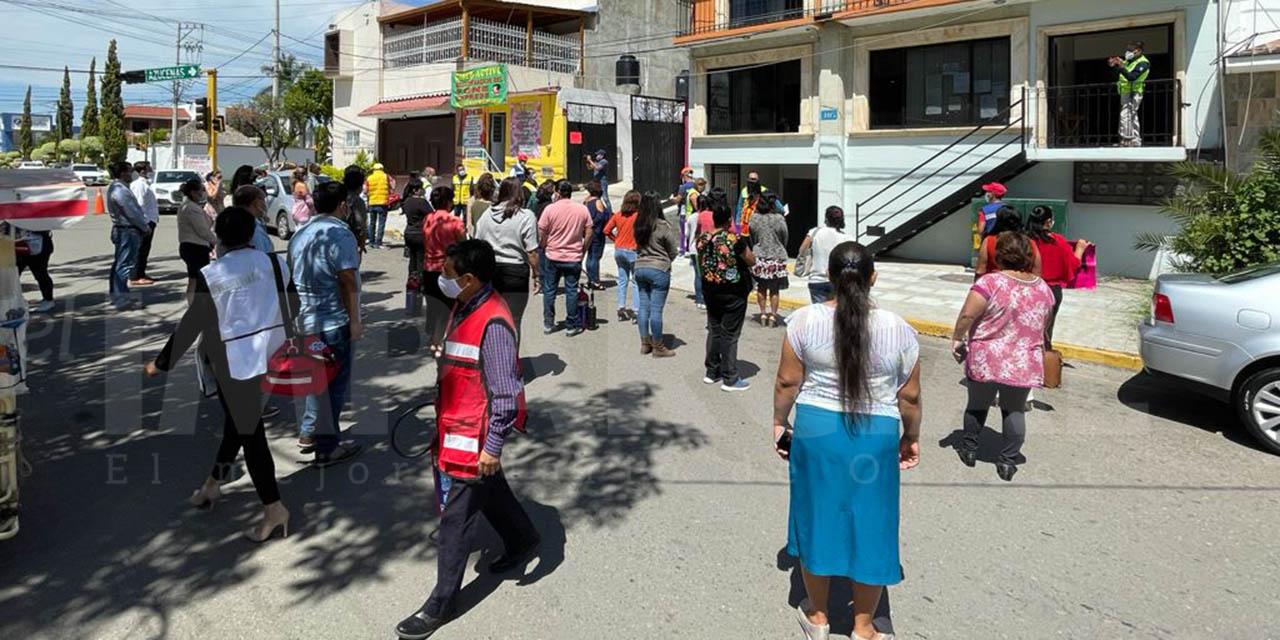Participa Oaxaca en el Simulacro Nacional 2021