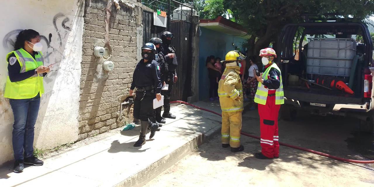 Se incendia casa habitación en Oaxaca, solo pérdidas materiales   El Imparcial de Oaxaca