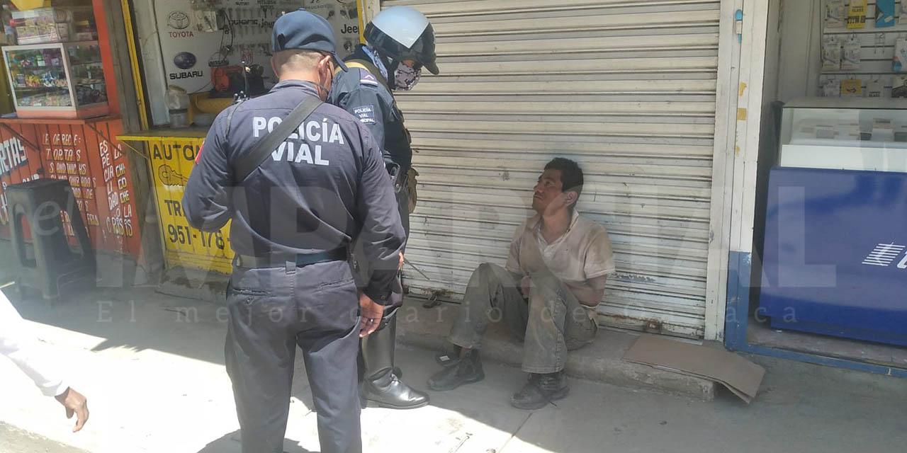 Atropellan a hombre en situación de calle en la Central de Abasto | El Imparcial de Oaxaca