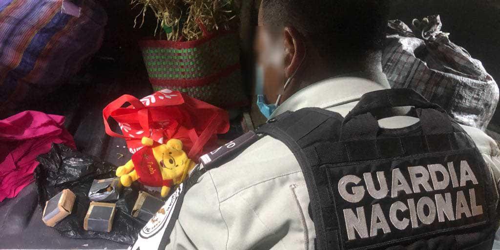 En un oso de peluche la Guardia Nacional localiza cartuchos para arma larga | El Imparcial de Oaxaca