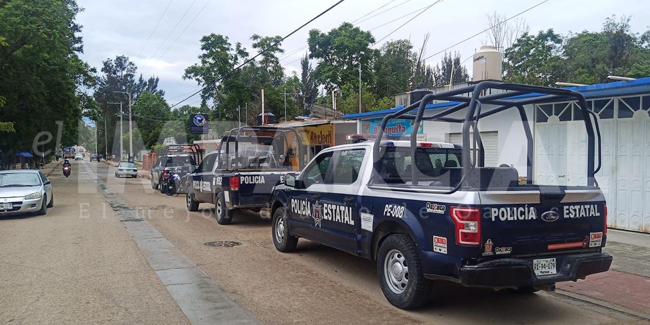 Reportan riña y detonaciones de arma de fuego la agencia municipal de Santiaguito, Etla