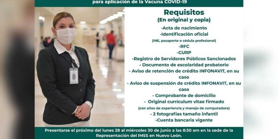 IMSS busca voluntarios que se quieran aplicar vacuna contra covid-19   El Imparcial de Oaxaca