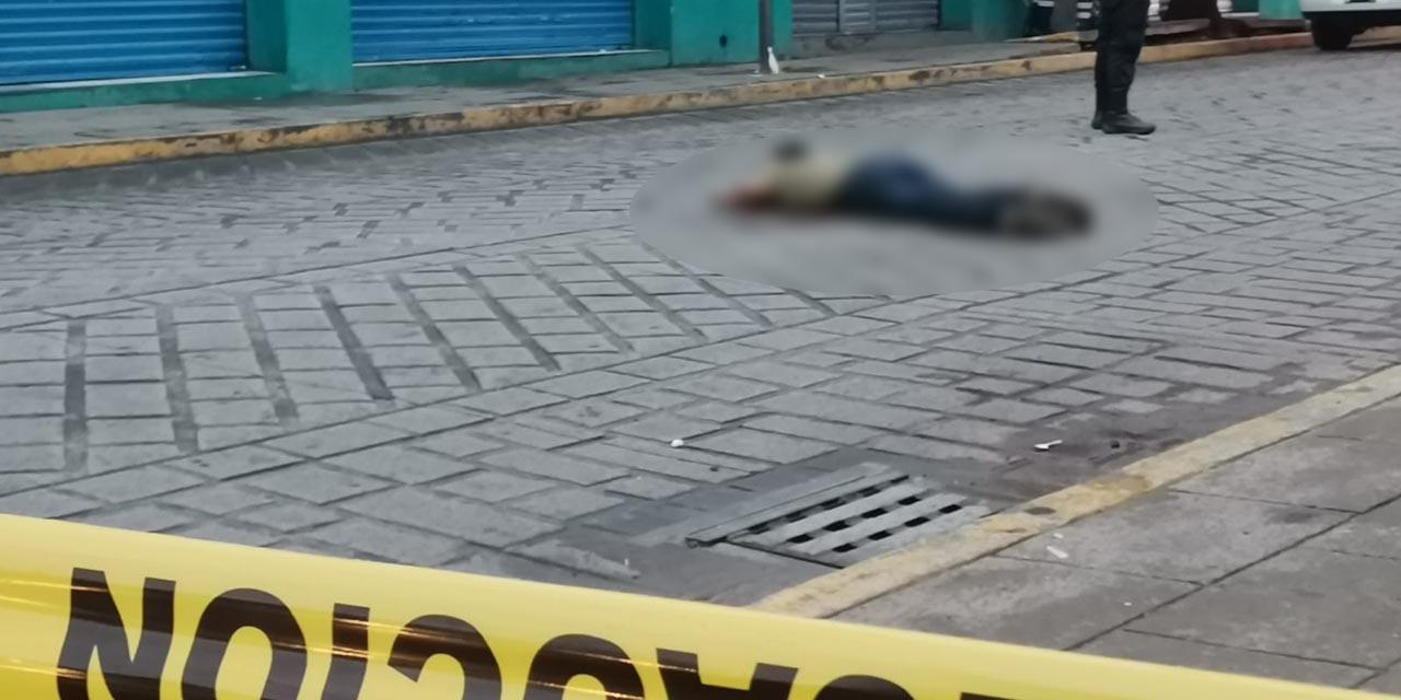 Hombre pierde la vida al ser atropellado en el centro de la ciudad de Oaxaca | El Imparcial de Oaxaca