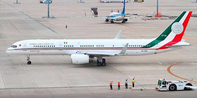 Venden avión presidencial, fue el que uso Felipe Calderón | El Imparcial de Oaxaca
