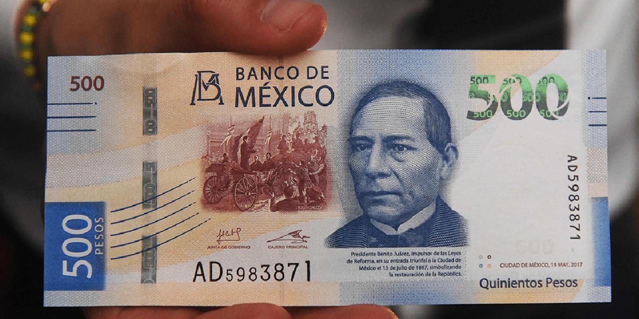 ¿Cómo identificar si un billete de 500 pesos es falso?   El Imparcial de Oaxaca
