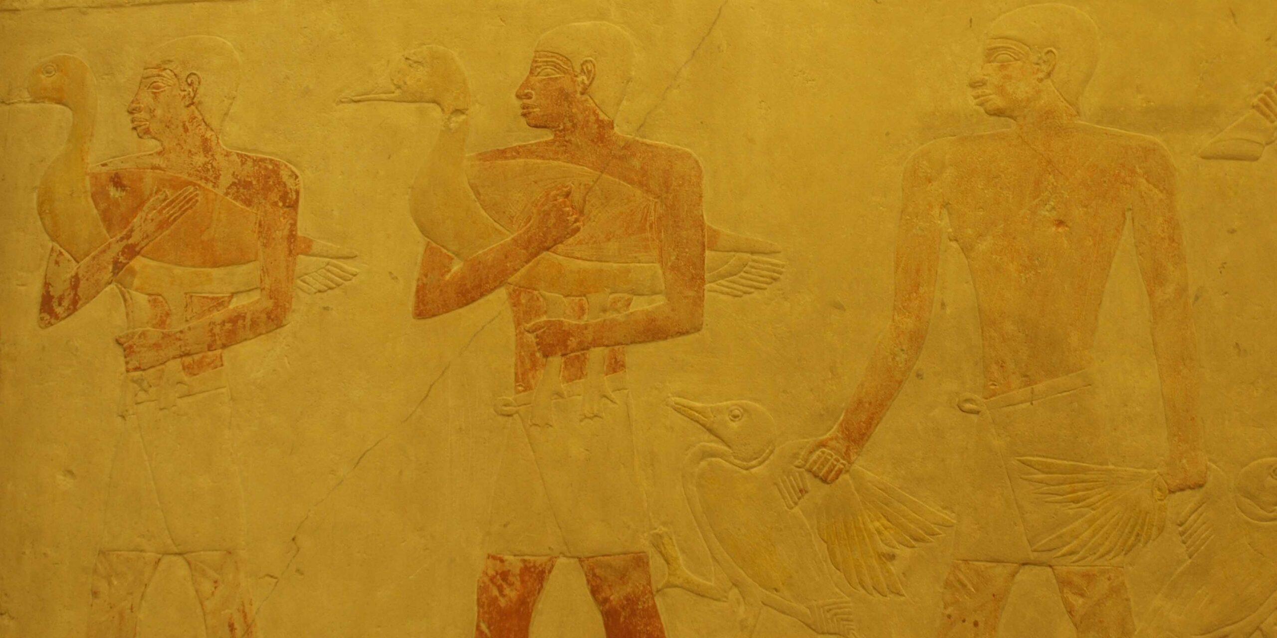 Así quedó restaurada la capilla de Akhethotep en Louvre | El Imparcial de Oaxaca