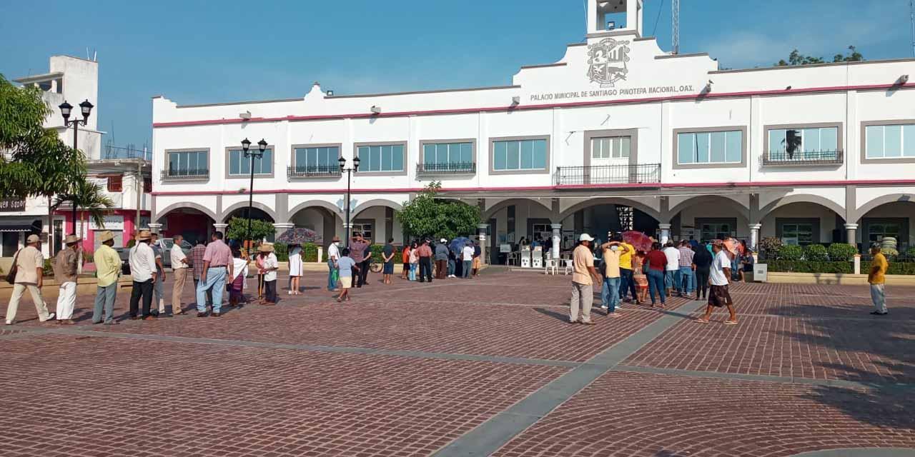 Una hora después abren casillas en Pinotepa | El Imparcial de Oaxaca