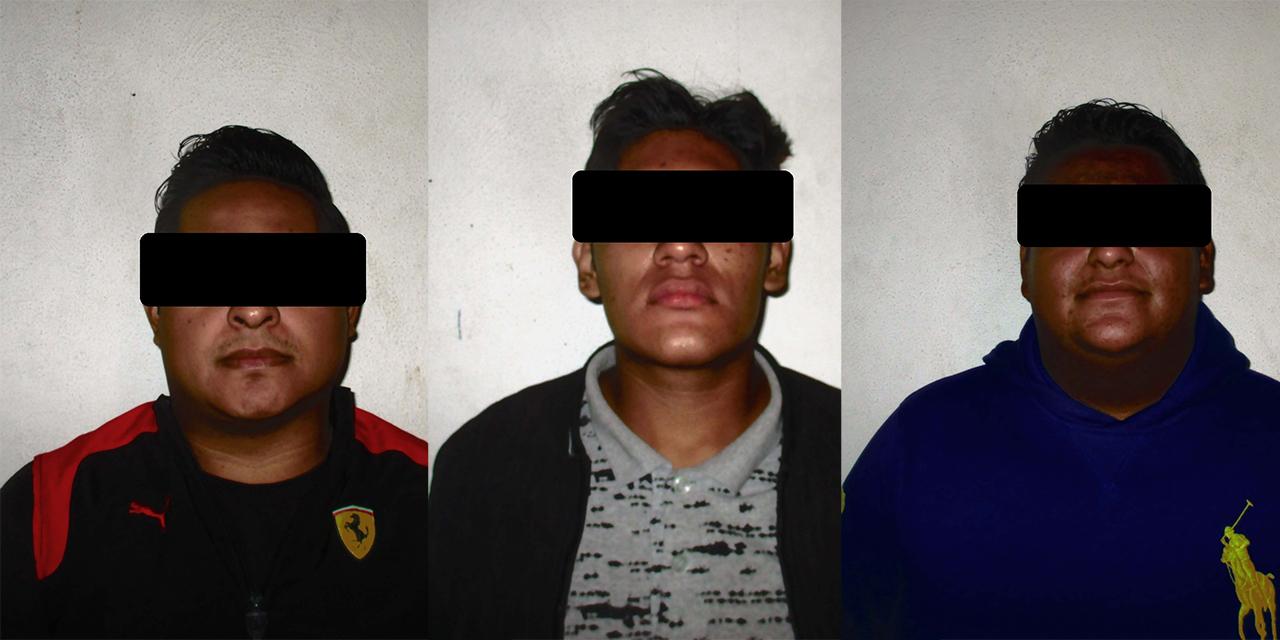 Los detienen por robarle a un transeúnte en el Ex Marquesado   El Imparcial de Oaxaca